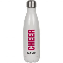 Custom Trendy Cheer Water Bottle