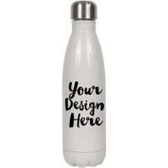 Custom Script Text Water Bottle