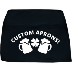Custom St Patricks Day Apron
