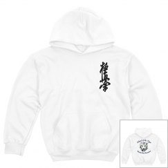 Youth Heavy Blend Hoodie with Kanji and Logo