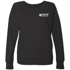 Women's Plus Size Terry Pullover with WHITE Cruise Logo