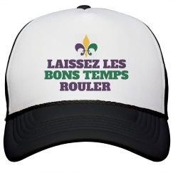 Les Bons Temps Mardi Gras Hat