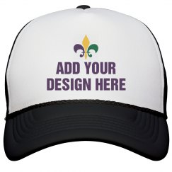 Custom Mardi Gras Hats & Apparel