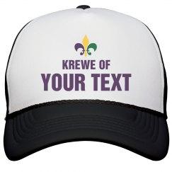 Custom Mardi Gras Krewe Hat