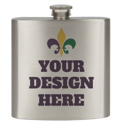 Design Your Mardi Gras Flask