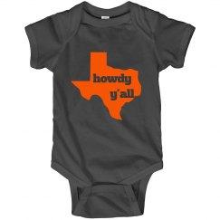 Texas Baby Onesie