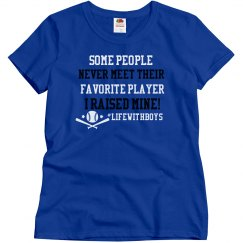 Favorite Player Baseball (Form Fitting)