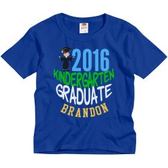 2016 Kindergarten Graduate Boy