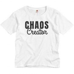 Chaos Creator Kids Tee