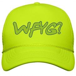 Neon Trucker Snapback Hat