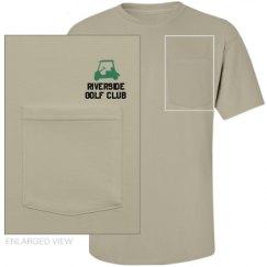 Unisex Midweight Cotton Pocket Tee