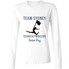 Team Senior Twirler Women's Long Sleeve
