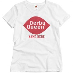 Customizable Derby Queen Tee