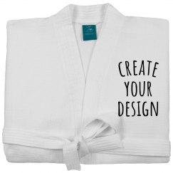 Create your Custom Waffle Weave Robe