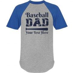 Baseball Laces Dad Shirt