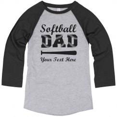 Custom Softball Dad Laces