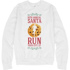 Warm At The Santa Run