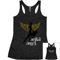Aerial Angel Tank Black