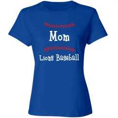 Mom Lions Baseball front only