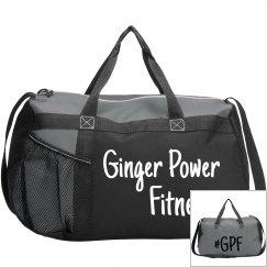 Ginger Power Fitness Duffle Bag