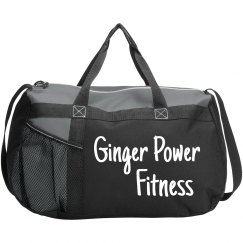 Ginger Power Fitness Duffle Bag
