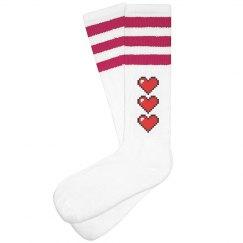 adult extra life socks