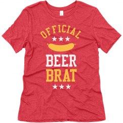 Official Beer Brat Oktoberfest Tee