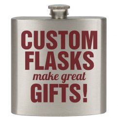 Custom Flasks for Gifts