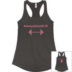 Ladies Tank 9:30 at 12L!