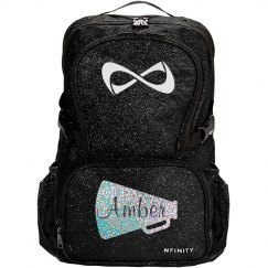 Glitter Name Nfinity Backpack