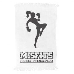 Black Misfits Logo w/girl