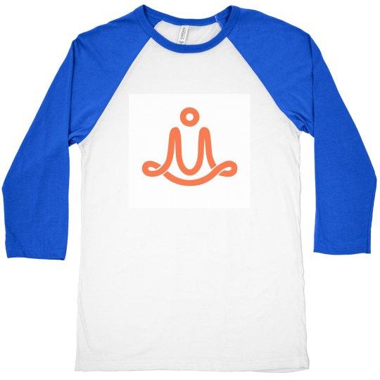 3/4 length sleeve M logo