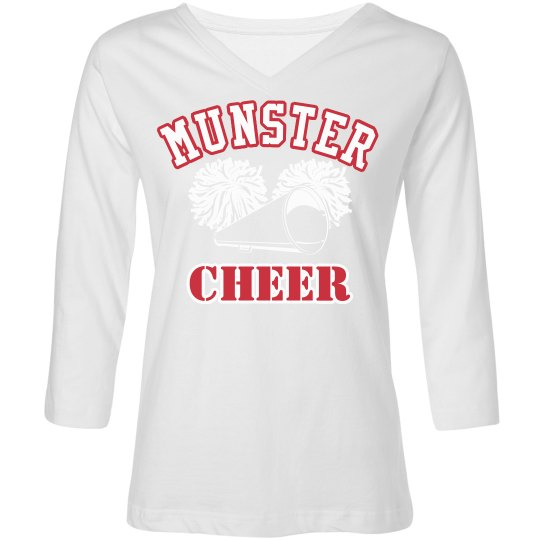 3/4 sleeve Cheer Mom Tee