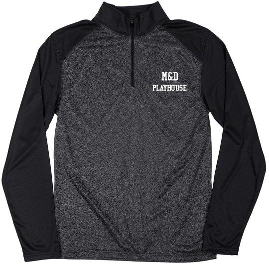 3/4 Zip Pullover M&D