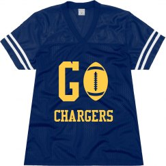 Go Chargers jersey
