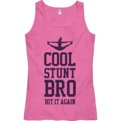 Cool Stunt Bro Cheer Mom