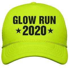 Glow Run Race 2016 Neon Hat