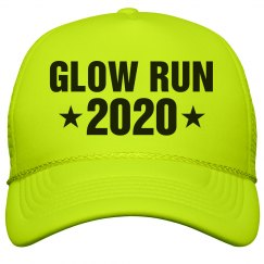 Glow Run Race 2020 Neon Hat