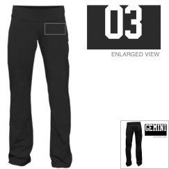 Gemini Sporty Zodiac Yoga Pants