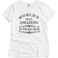 Amazing 75 year old