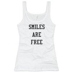 Smiles are free