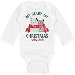 """Baby's """"Beary"""" First Christmas"""