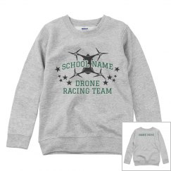 Custom School Drone Team Sweatshirt