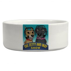 Ceramic Dog Bowl- Official Logo