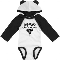 Remaking Champs Sleeved Onesie