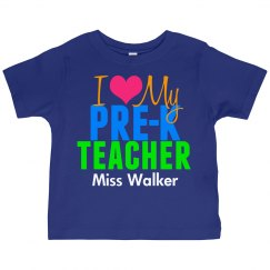 I Love My Preschool Teacher