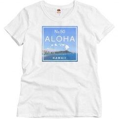 Aloha Hawaii Island Diamond Head Shirt
