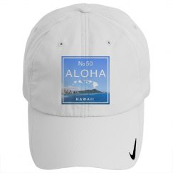 Aloha Hawaii Island Diamond Head Hat