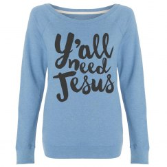 Y'all Need Jesus Cozy Crew