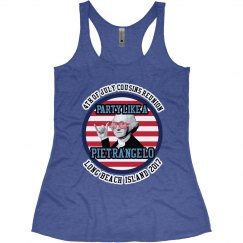 Ladies Tank - Vintage Royal Blue